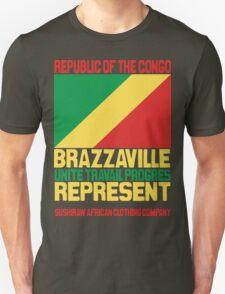 Brazzaville Congo represent T-Shirt