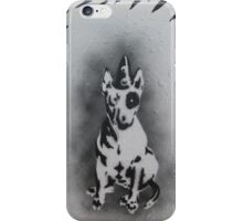 Bull Terrier graffiti iPhone Case/Skin