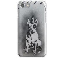 Bull Terrier graffiti iPhone Case/Skin