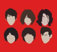 Alex Turner's hair evolution Kids Tee