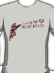 Master Chief Heart Attack - Halo T-Shirt