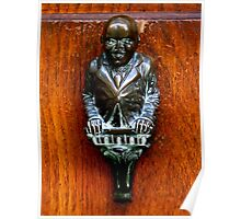 Louis Armstrong Look-alike Door Knocker - Venice Poster