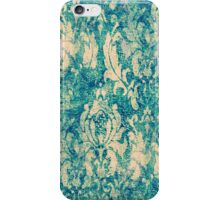 Vintage Blue and White Floral Pattern - Iphone 6 Case iPhone Case/Skin