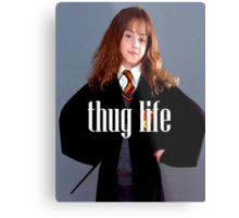 Hermione Granger Thug Life Metal Print
