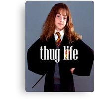 Hermione Granger Thug Life Canvas Print
