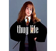 Hermione Granger Thug Life Photographic Print
