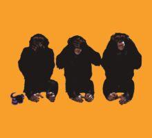 the three wise monkeys by Basic Billy Boy Brown