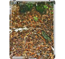 Wet undergrowth iPad Case/Skin