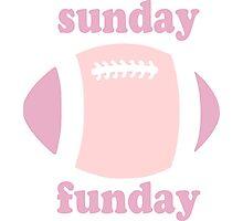 Sunday Funday - pink two tone Photographic Print