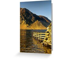 Crummock Water - The Lake District Greeting Card
