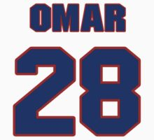 National baseball player Omar Moreno jersey 28 by imsport