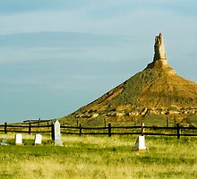 Chimney Rock National Monument, Nebraska by LarryGambon