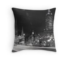 St. Kilda Bridge Throw Pillow