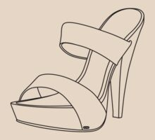 High Heel - Black - 001 by Steve Dunkley