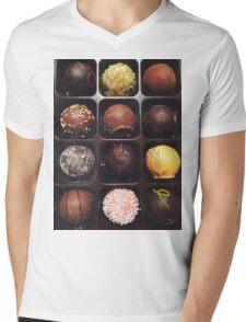Chocolate Truffles Photo Mens V-Neck T-Shirt