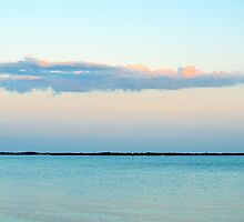 A Single Cloud Above Moriches Bay | East Moriches, New York  by © Sophie W. Smith