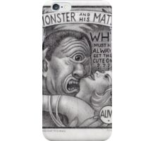 Monster and His Mate iPhone Case/Skin