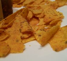 Corn chips by Ersu Yuceturk