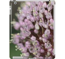 Russion garlic flower head iPad Case/Skin