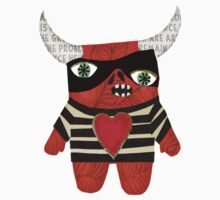 Picasso Monster One Piece - Short Sleeve