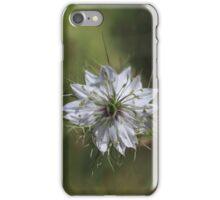 Love in the Mist white iPhone Case/Skin