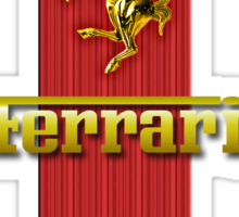 Ferrari Lover [UPDATE ~ Gold] Sticker