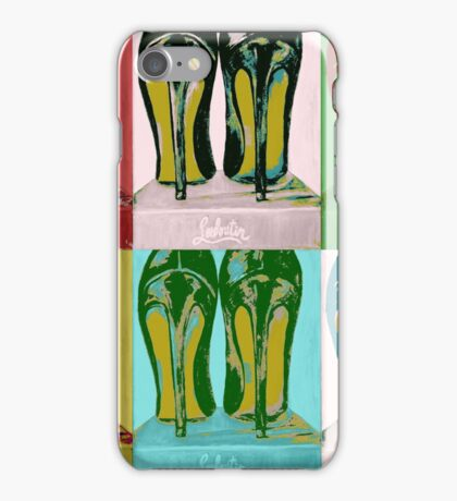 Red Bottom Heels Pop Art iPhone Case/Skin