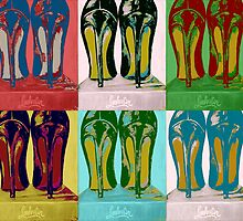 Red Bottom Heels Pop Art by Arts4U
