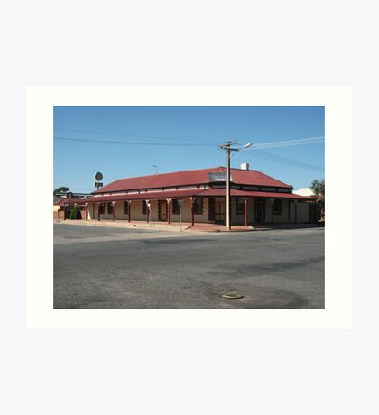 Broken Hill, The Silver Spade,  - 2013 Art Print
