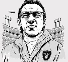 Al Davis by BaseballBacks