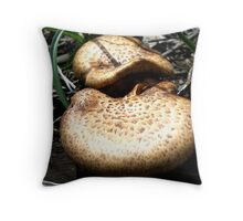Mushroom Tongues Throw Pillow
