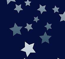 Stars Blue Burst by helloartistry