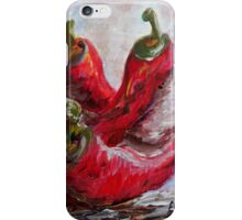 Poppin' Peppers iPhone Case/Skin