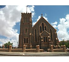 Broken Hill Sacred Heart Cathedral  Photographic Print