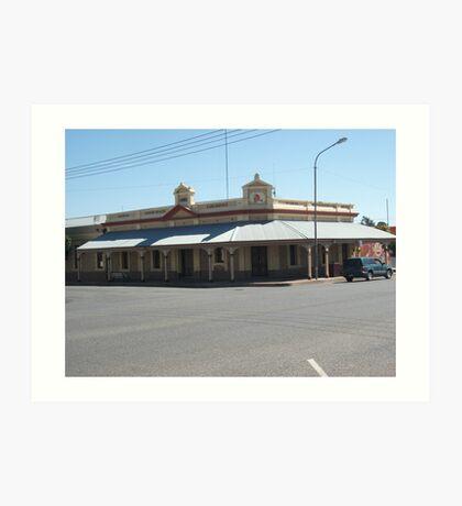 Broken Hill  Silver King Hotel  Art Print