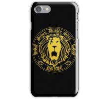 Lion's Pride Back iPhone Case/Skin