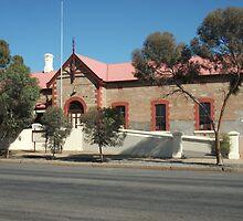 Broken Hill  Sulphide St Railway Stn Museum  by Heather Dart