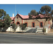 Broken Hill  Sulphide St Railway Stn Museum  Photographic Print