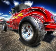 Fractalized Hot Rod by Ben Pacificar