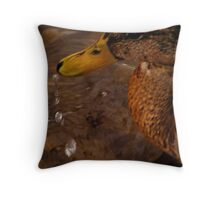 They'll bring you down. Throw Pillow