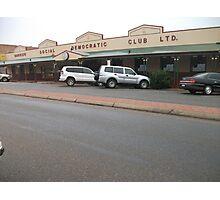 Broken Hill, DEMO Club Photographic Print