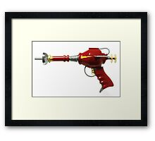 Retro Ray Gun Framed Print
