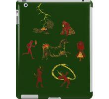 Pyroglyphics iPad Case/Skin