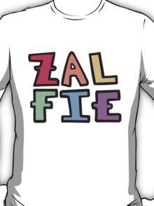 a colorful zalfie T-Shirt