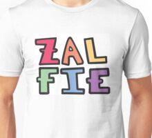 a colorful zalfie Unisex T-Shirt