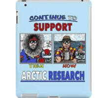 Continue To Support Arctic Research iPad Case/Skin