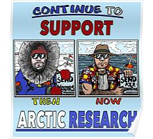 Continue To Support Arctic Research Poster