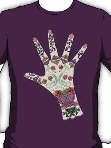 Celtic Mehndi hand T-Shirt