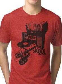 Oldskool Records Tri-blend T-Shirt