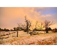 White Gold - Hill End - The HDR Experience Photographic Print